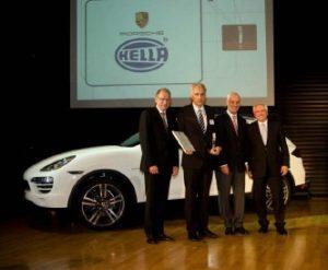 Hella – geriausias 2011 metų Porsche AG tiekėjas