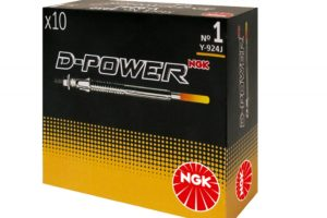 Naujos žvakės D-Power NGK atsarginių automobilių detalių rinkoje