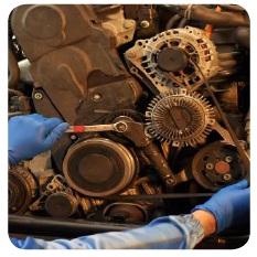 """V formos rumbuotojo diržo keitimas """"Volkswagen"""" grupės automobiliuose – SKF patarimai"""