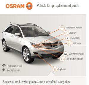 """""""Osram"""" atnaujina """"Vehicle Light"""" programėlę"""