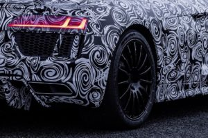 """Naujos """"Michelin"""" padangos automobiliui """"Audi R8"""""""