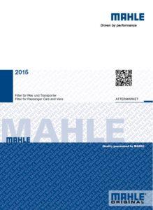 """""""Mahle"""" 2015 metų popieriniai katalogai"""