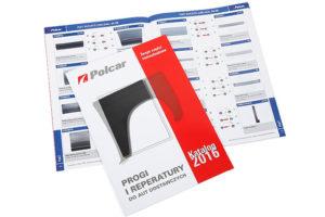 """Naujas """"Polcar"""" slenksčių ir kėbulo skardų katalogas"""