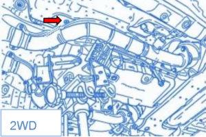 Vanduo Lexus IS250/IS350 automobilio viduje