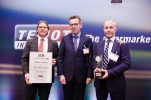 TEMOT INTERNATIONAL paskelbė TRW AFTERMARKET 2015 metų tiekėju
