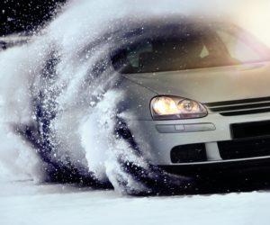 CO VW Golf in Snow Winter cmyk, CO VW Golf im Schnee Winter cmyk,