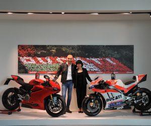 """""""Shell"""" ir """"Ducati"""" glaudžiai bendradarbiauja"""