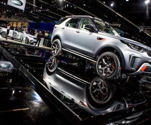 """Pažangios """"Goodyear"""" padangos naujoje """"Land Rover Discovery SVX""""  versijoje"""