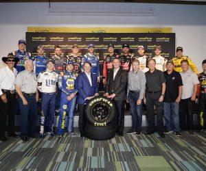 """""""Goodyear"""" ir """"NASCAR"""" tęsia bendradarbiavimą"""