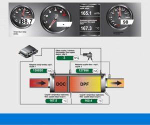 DPF filtro regeneracijos metu įsiurbiamas per mažas oro kiekis