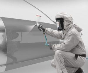 Skysto metalo efekto dažymo renovacija