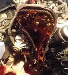 """""""Seat Ibiza"""": pavaros grandinės komplekto montavimas"""