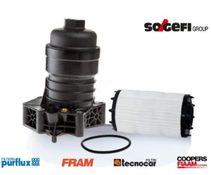 "Sogefi alyvos filtro modulis naujam "" Audi A6"""
