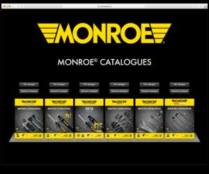 """Naujas """"Monroe"""" amortizatorių katalogas lengvosioms transporto priemonėms"""