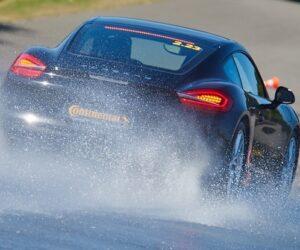 Rudenį lyjant vairuokite ypatingai atsargiai