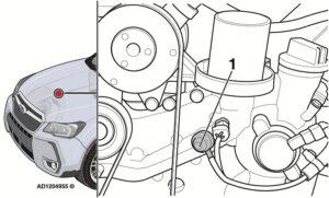 """""""Subaru Forester"""": važiuojant dega variklio alyvos slėgio lemputė"""