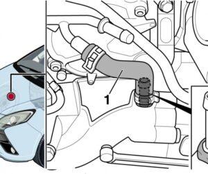 Opel Zafira: aušinimo skysčio nutekėjimas