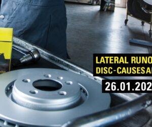 Lateral runout of the disc-causes and effects [free online training]