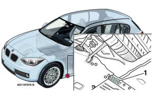 BMW serija 1: Važiuojant didesniu greičiu iš po transporto priemonės girdisi dūzgimas