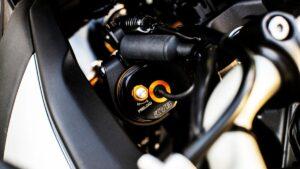 "Motociklams skirta sistema ""KYB Actimatic Damper System"""