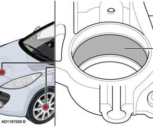 """""""Peugeot 207"""" – beldimas pradedant važiuoti"""